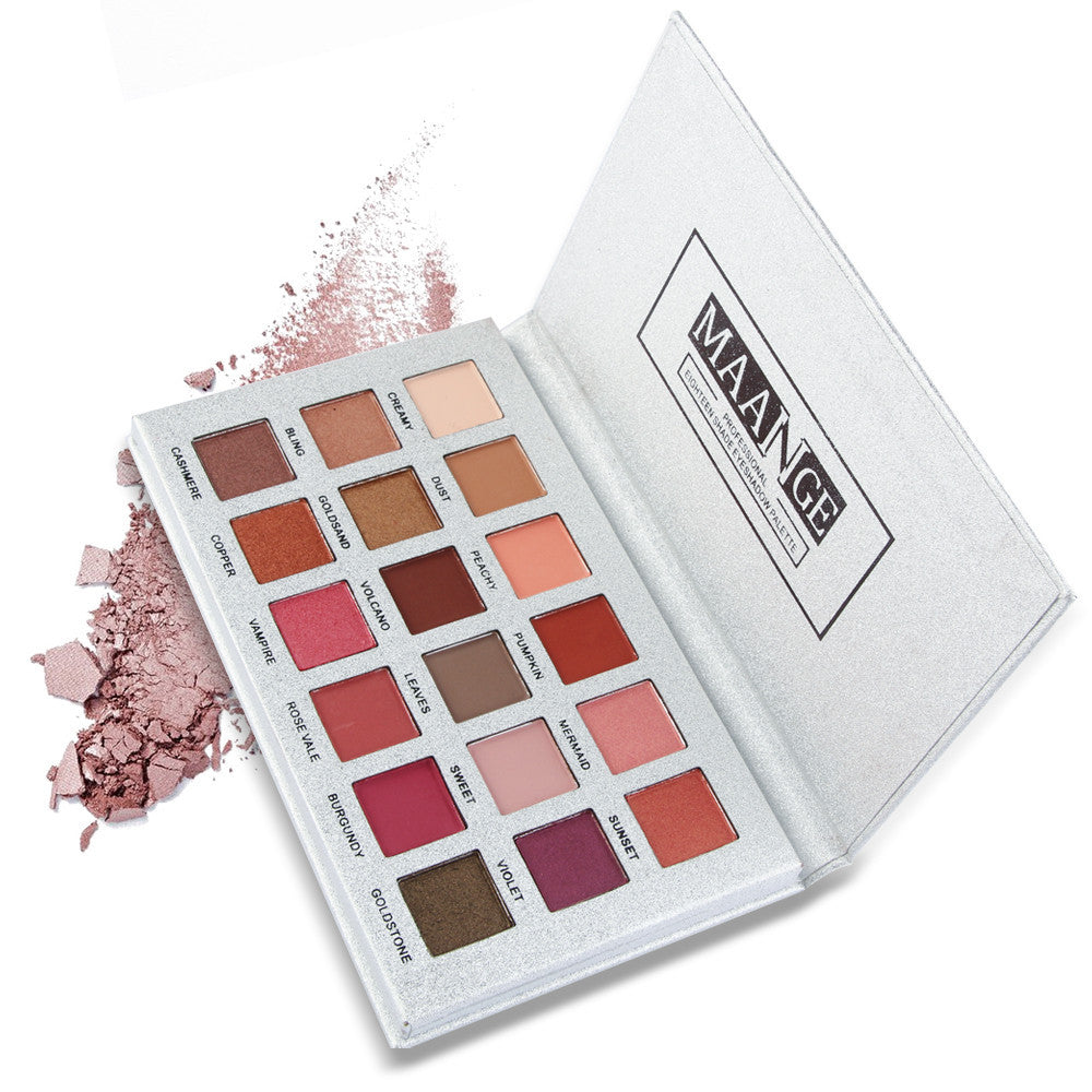 Maange 18 Color Eyeshadow Palette