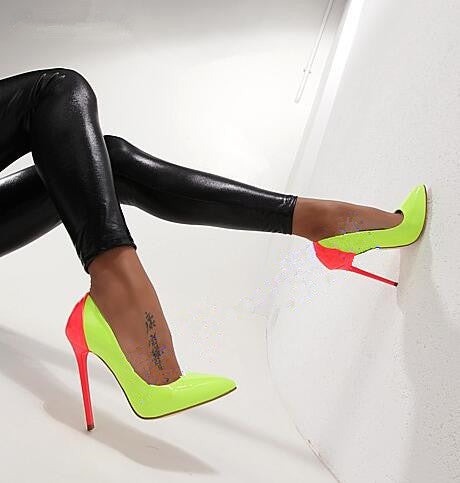 """Candy Gal"" Pointed Toe Stiletto"