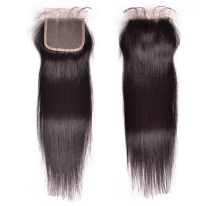 ANY LENGTH $200! Indian Straight Hair 3 Bundles w/ Closure Included
