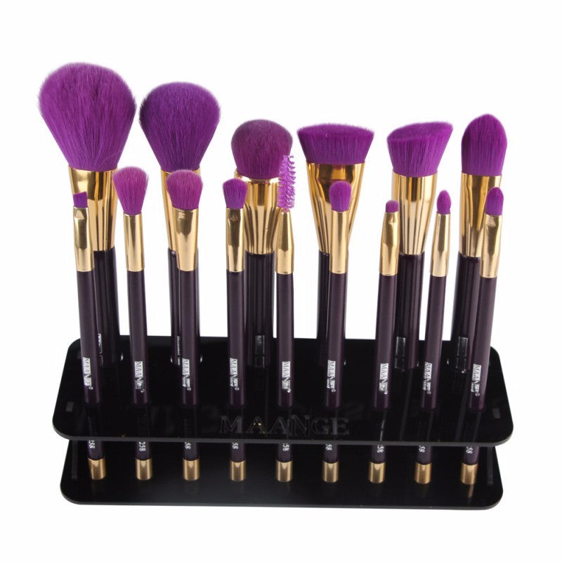 15 Spaced Brush Holder