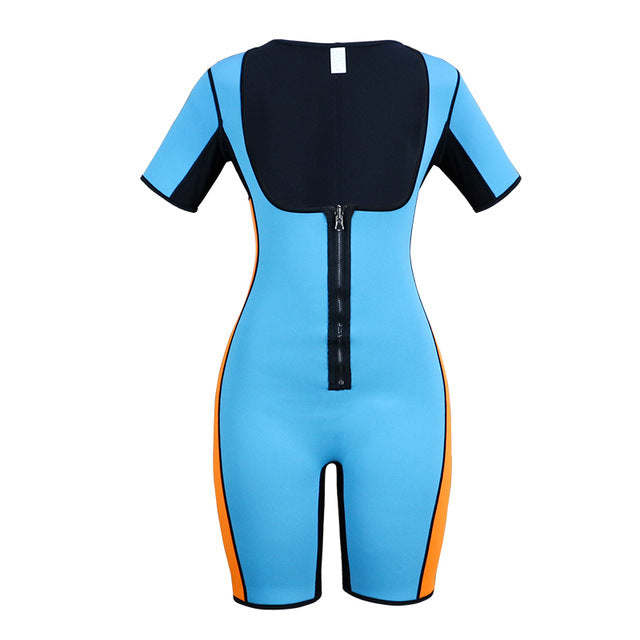 One piece Body Shaper Sauna Suit