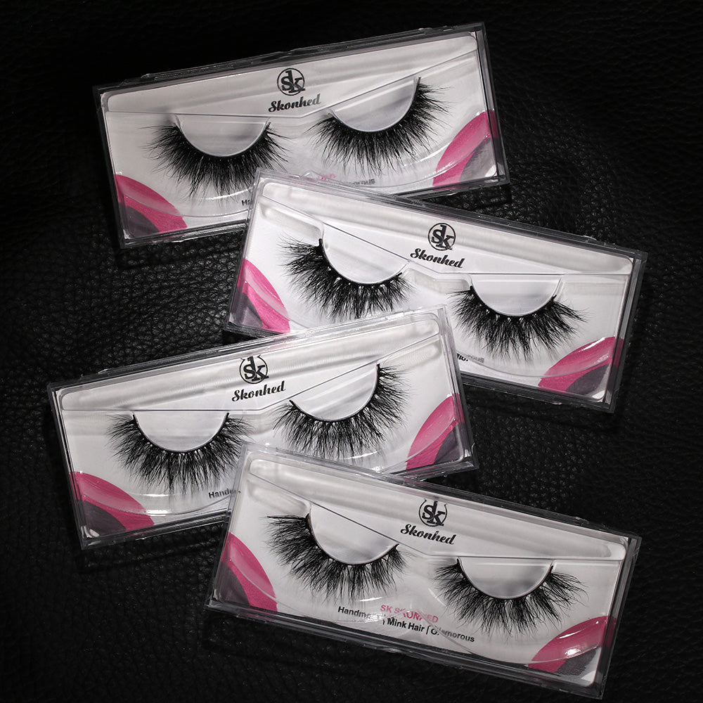 Shocked Luxury Mink Lashes!