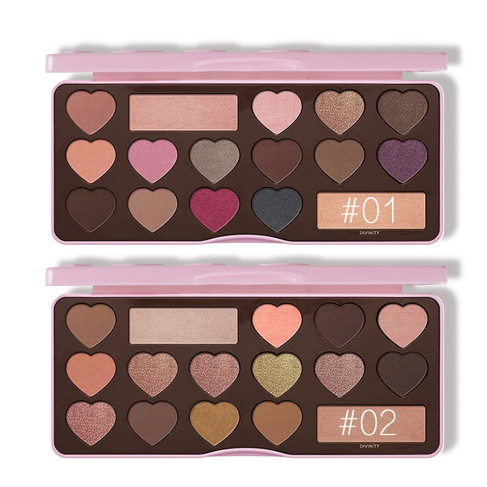 Kiss Beauty Chocolate Bar Palette