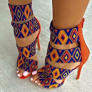 """Joseline"" Casual Printed Shoes"