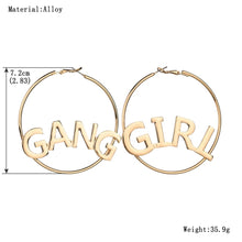 Girl Gang Hoop Earrings
