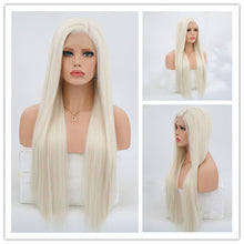 BONE STRAIGHT SYNTHETIC LACE FRONT WIGS 8 COLORS!!