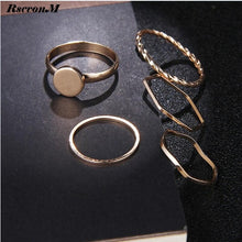 """The O"" Stack Ring Set"