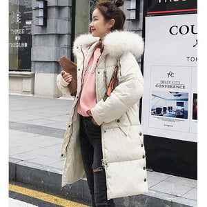 """Shock Her"" Long Thick Parka Winter Coat"