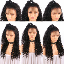 18inch SYNTHETIC Lace Front Deep Wave Wig w/ Baby Hair