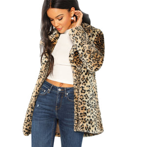 """High Street"" Leopard Printed Elegant Jacket"