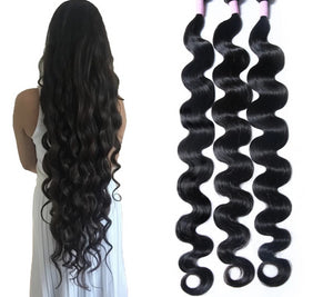 UP TO 30 INCHES!! Brazilian Hair Weave Bundles Body Wave Bundles