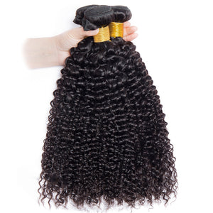 """Virgo"" Brazilian Curly Hair Human Hair Bundles"