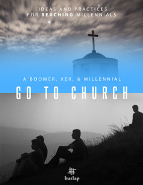 A Boomer, Xer, & Millennial Go to Church--(download)