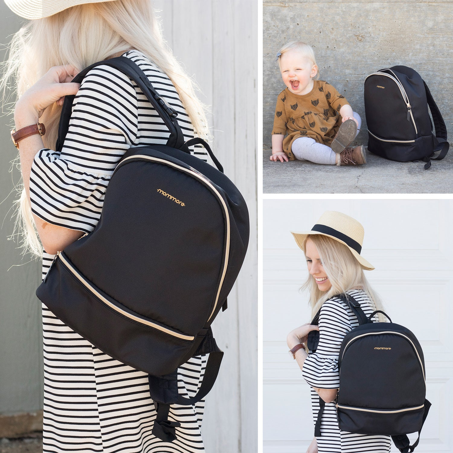 MULTI-FUNCTION BACKPACK DIAPER BAG