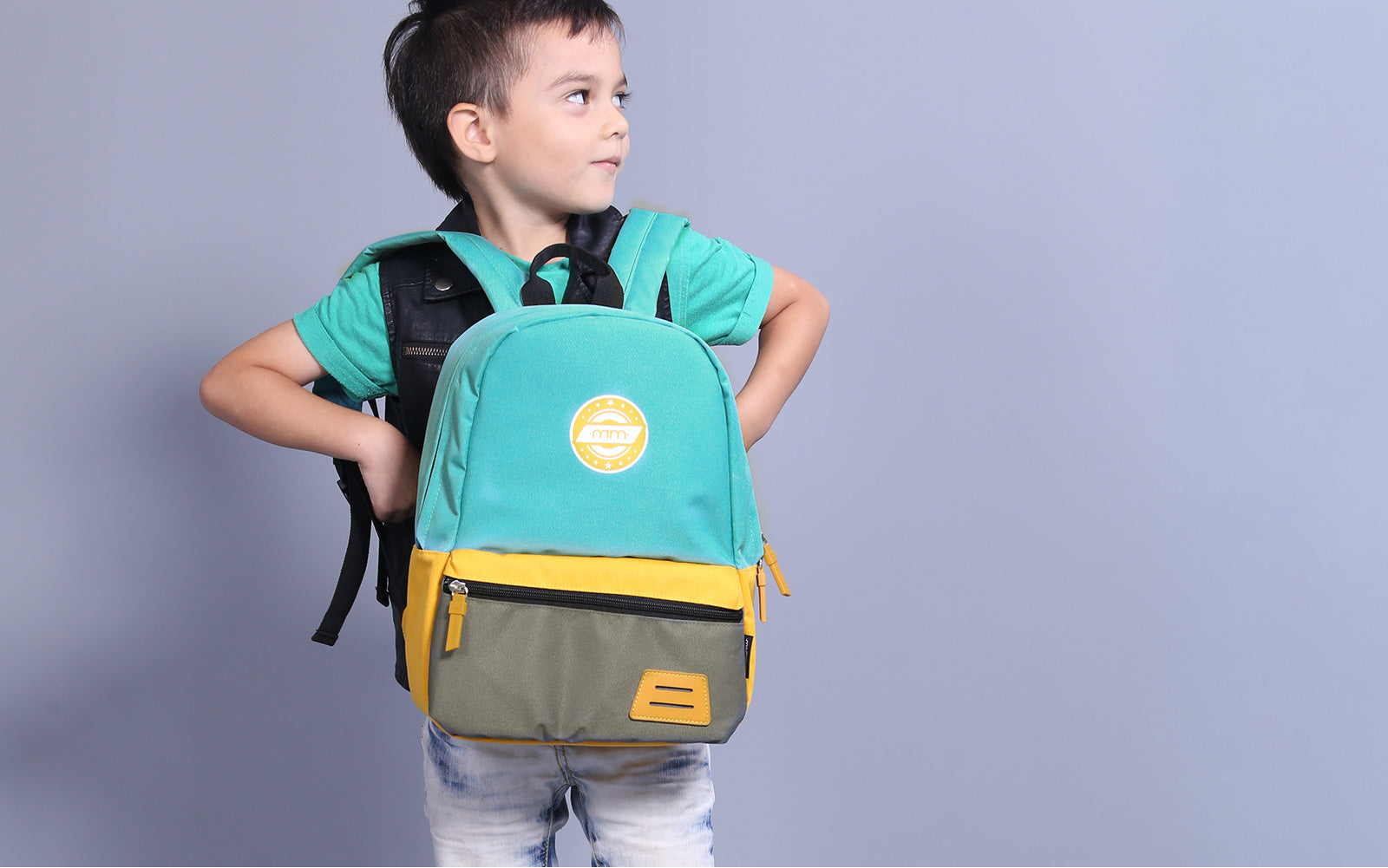 Kids Backpack for School Lunch Bag with Chest Clip Best for 3-6 Years Old