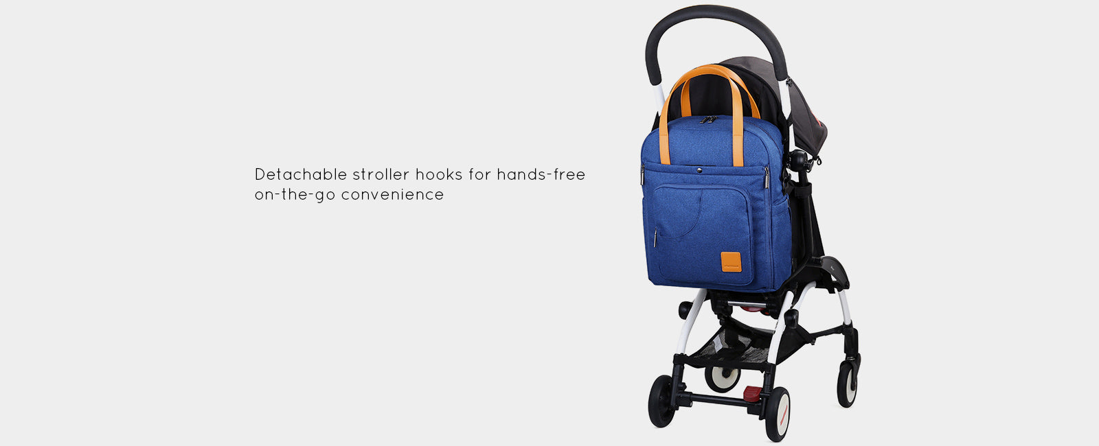 Stylish Diaper Bag Backpack Multi-function Changing Shoulder Bag Nappy Tote Bag for Baby Care