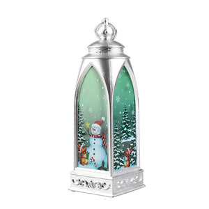 (4 pieces)Creative painted  Christmas Decoration lantern
