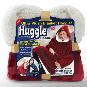 huggle hoodie lazy pullover fleece hooded