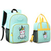 Little Unicorn Kids Backpack with Insulated Lunch Bag - MOMMORE