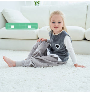Children's flannel pajamas for autumn and winter