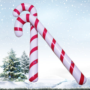 Inflatable Christmas decoration candy cane( 5 pieces)