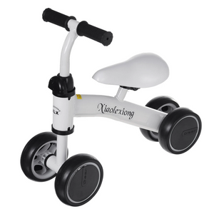 Four-wheeled non-pedal baby toddler scooter