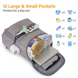 Smart Diaper Bag Backpack - MOMMORE