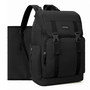 Stylish Backpack Diaper Bag - MOMMORE