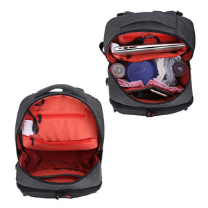 Diaper Bag Backpack with Insulated Pocket - MOMMORE