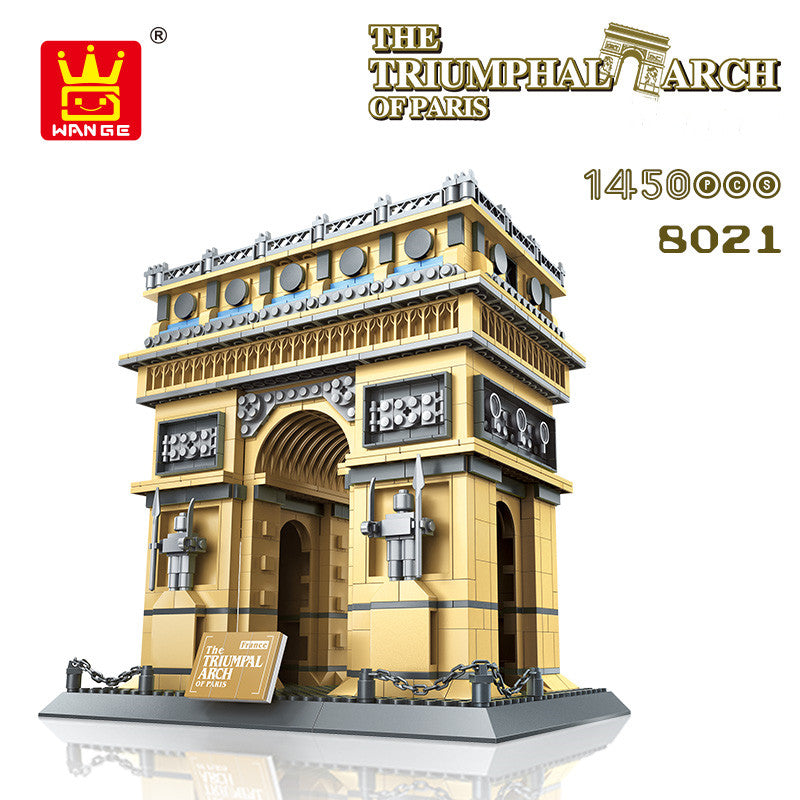 Famous building assembled collection building block toys