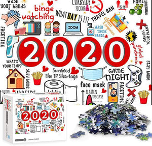 2020 Puzzle Christmas Jigsaw(Best toys of 2020)