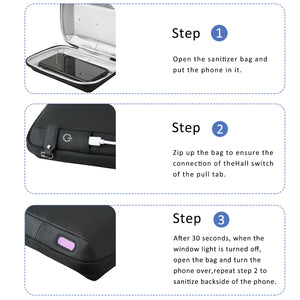 UV-Clean Smart Phone Sanitizer - MOMMORE
