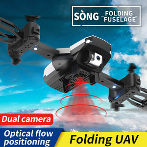Folding quadcopter (dual lens with optical flow 200W)