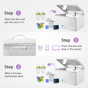 UV-Clean Smart Sanitizer Box - MOMMORE