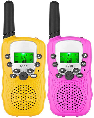 Children's walkie-talkie, gifts and toys for boys and girls, 22 channels, 2 pieces