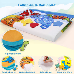 Large Aqua Drawing Mat for Kids Water Painting Writing Doodle Board Toy