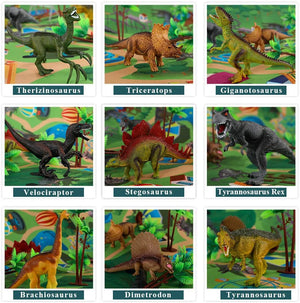 Educational and realistic dinosaur game