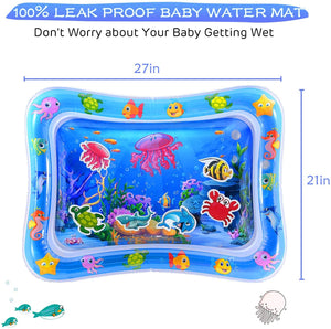Baby Water Mat Infant Water Mat for 3 6 9 Months Boys Girls