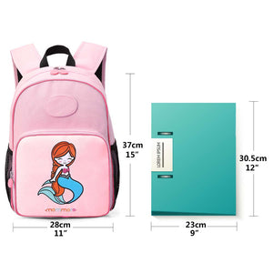 Cute Little Mermaid Kids Backpack - MOMMORE