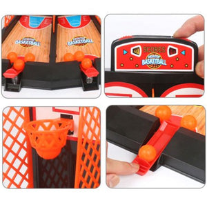 Finger Basketball Game Interactive Mini Basketball Toy Table Game for 2 Persons
