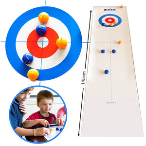 Children's educational board game curling ball bowling indoor leisure toys