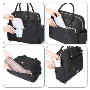 Nappy Shoulder Diaper Bag - MOMMORE