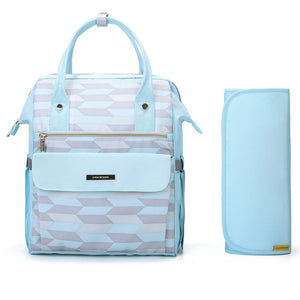 Stylish Diaper Backpack with Large Capacity - MOMMORE