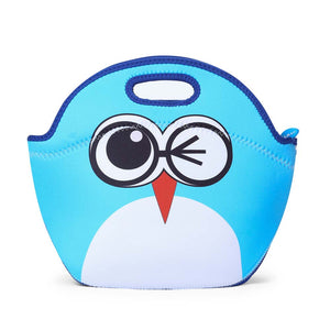 Cartoon Owl Kid Lunch Tote bag - MOMMORE