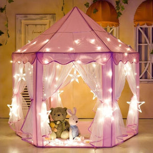"55"" x 55"" Indoor/Outdoor Fabric Play Tent"