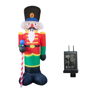 Christmas inflatable nutcracker soldier inflatable model