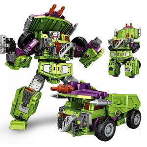 Deformation super large toy robot TF engineering combiner 6 in 1