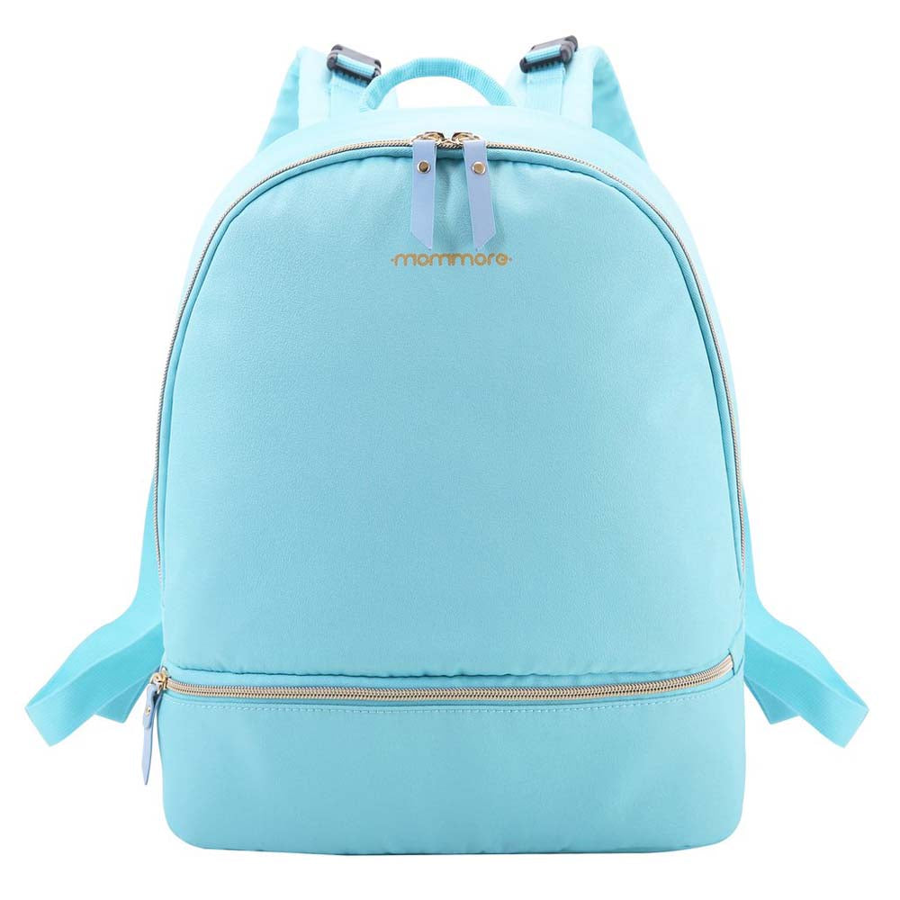 Compact Mini Changing Bag and Mat Teal Blue