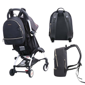 Small Multi-Function Backpack Diaper Bag - MOMMORE