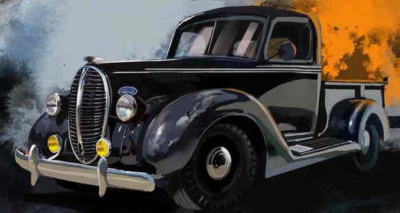 1939 Ford pickup - realcarartist